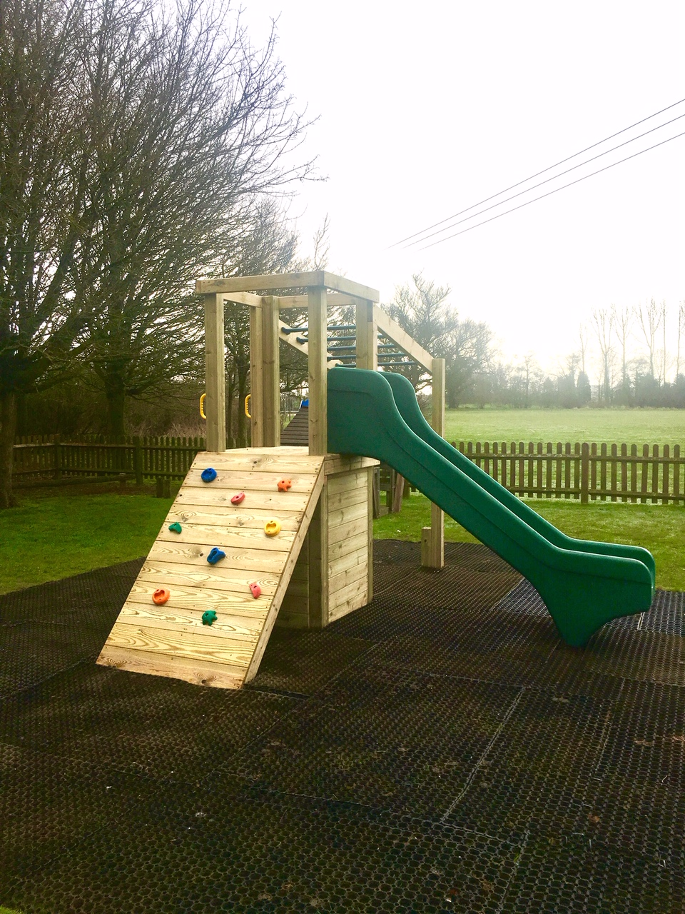 Mersham Sports Club reopened the children's play park at their Flood Street ground